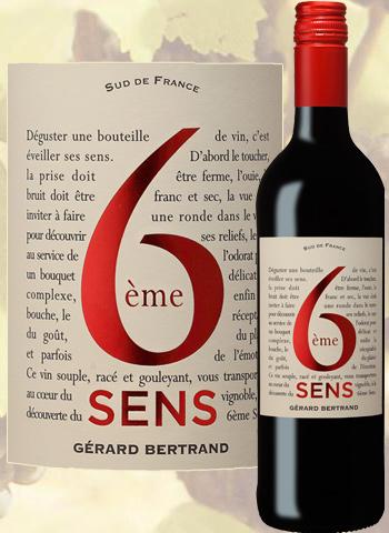 6ème Sens Rouge 2018 Pays d'Oc Gérard Bertrand