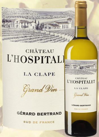 Château l'Hospitalet Blanc Grand Vin 2019 La Clape Gérard Bertrand
