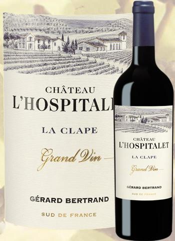 Château l'Hospitalet Rouge Grand Vin 2016 La Clape Gérard Bertrand