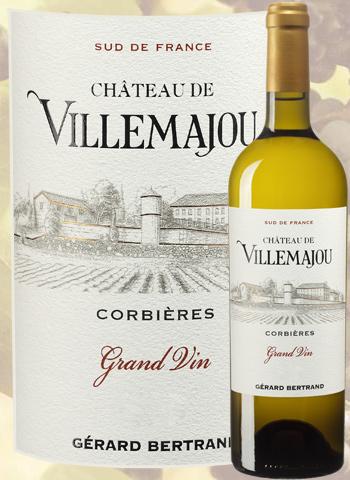 Château de Villemajou Blanc Grand Vin 2019 Corbières-Boutenac Gérard Bertrand