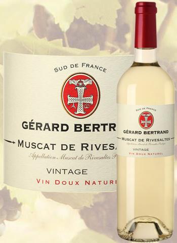 Muscat de Rivesaltes 2018 Gérard Bertrand