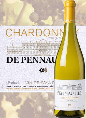 Chardonnay de Pennautier 2019 Pays d'Oc Lorgeril