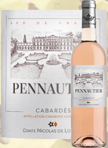Château de Pennautier Rosé Classique 2019 Cabardès Lorgeril