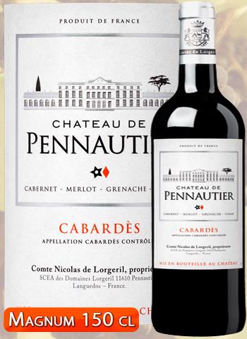 Magnum Château de Pennautier Rouge Classique 2016 Cabardès Lorgeril