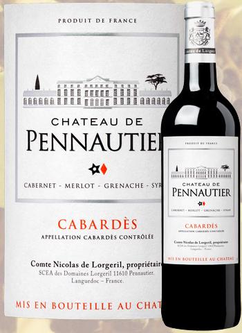 Château de Pennautier Rouge Classique 2016 Cabardès Lorgeril