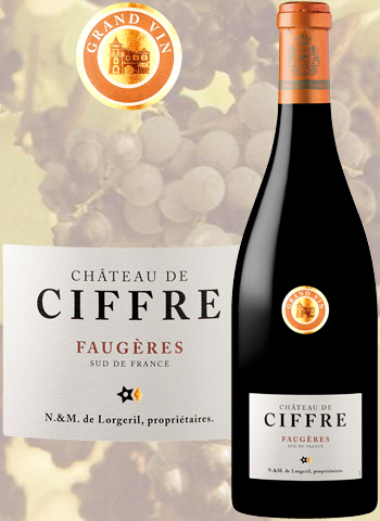 Château de Ciffre Grand Vin 2017 Faugères Lorgeril