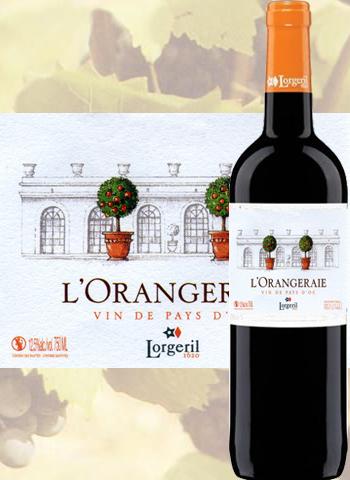 L'Orangeraie de Pennautier Rouge 2019 Pays d'Oc Lorgeril