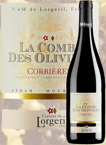 La Combe des Oliviers 2018 Corbières Lorgeril