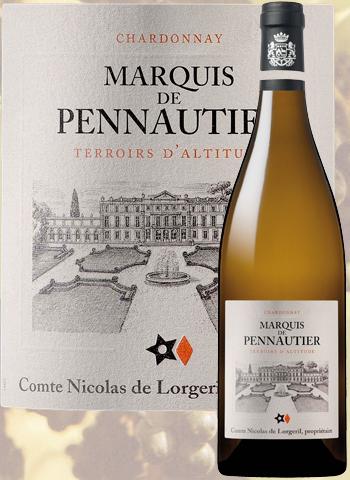 Marquis de Pennautier Chardonnay 2016 Pays d'Oc Lorgeril