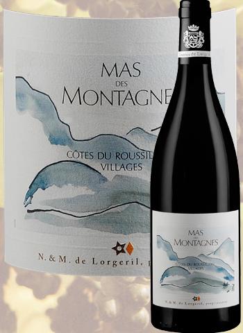 Mas des Montagnes Rouge 2018 Côtes du Roussillon Villages Lorgeril