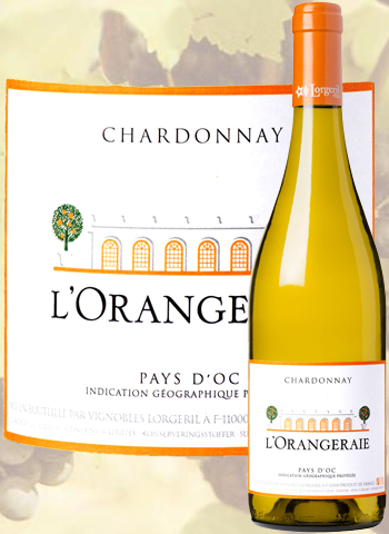 L'Orangeraie de Pennautier Chardonnay 2019 Pays d'Oc Lorgeril