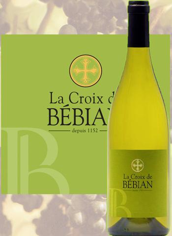 La Croix de Bébian Blanc 2018 Prieuré Saint-Jean de Bébian