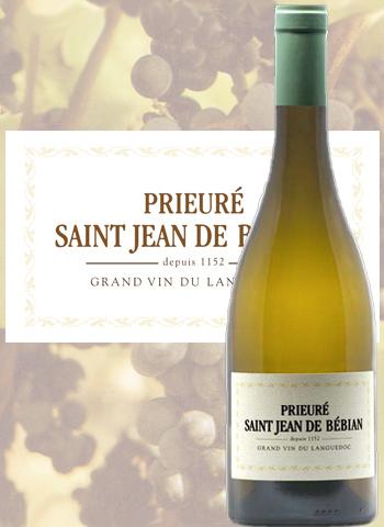 Prieuré Saint-Jean de Bébian Blanc 2018