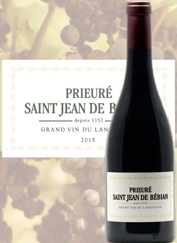 Prieuré Saint-Jean de Bébian Rouge 2017