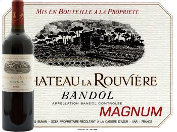 Magnum Château la Rouvière Rouge 2015 Bandol Bio Bunan