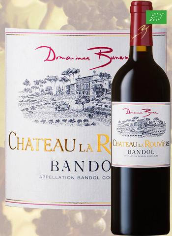 Château la Rouvière Rouge 2015 Bandol Bio Bunan