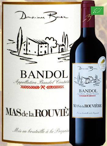 Mas de la Rouvière Rouge 2017 Bandol Bio Bunan