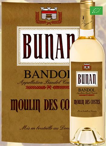 Moulin des Costes Blanc 2019 Bandol Bio Bunan