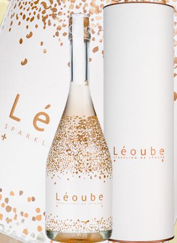 Sparkling rosé de Léoube nm effervescent de Provence Bio