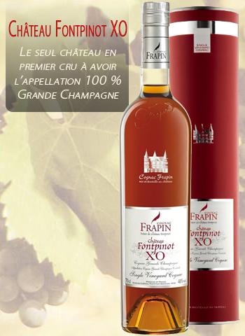 Château Fontpinot XO Premier Cru de cognac Grande Champagne