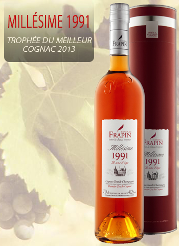 Frapin Cognac XO Millésime 1991 (20 ans d'âge)