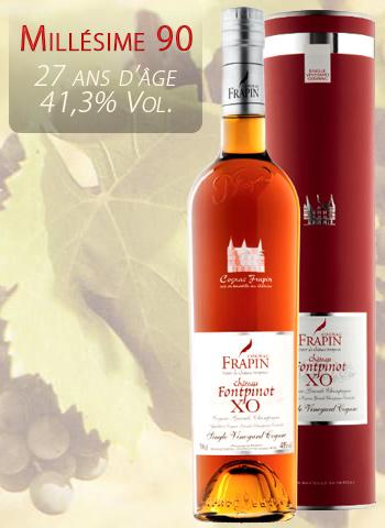 Frapin Cognac XO Millésime 1990
