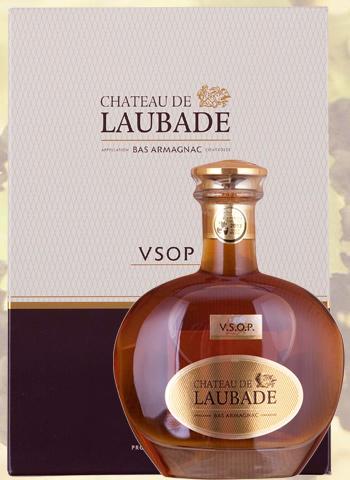 Carafe Promenade Dorée VSOP Bas Armagnac Château de Laubade