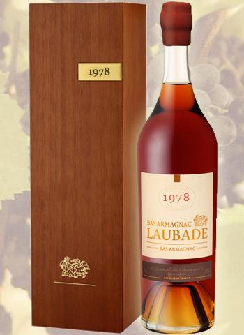 Célébration 1978 Bas Armagnac Château de Laubade