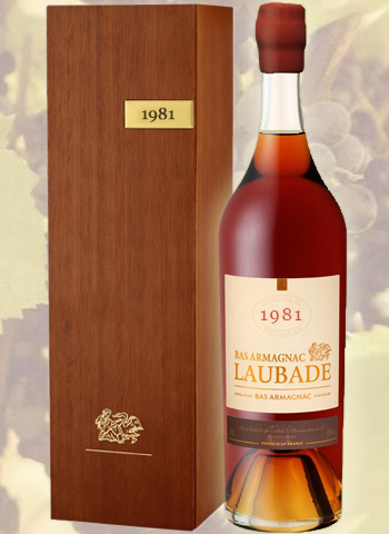 Célébration 1981 Bas Armagnac Château de Laubade