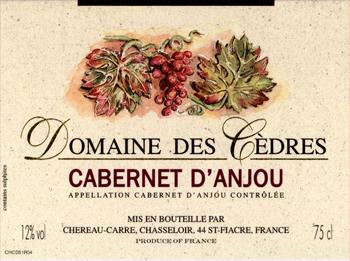 Domaine Des Cèdres 2015 Cabernet Anjou Rosé Marc Séchet