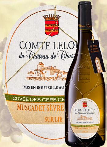 Comte Leloup du Château De Chasseloir 2015 Chéreau carré