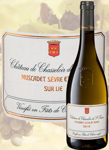 Château De Chasseloir Cuvée Vinifiée 2015 Muscadet Chéreau carré