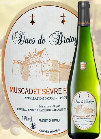 Cuvée des Ducs de Bretagne 2019 Muscadet Chéreau carré