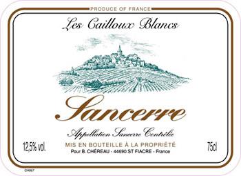 Sancerre Blanc 2017 Domaine Gérard Millet