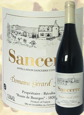 Sancerre Rouge 2018 Domaine Gérard Millet