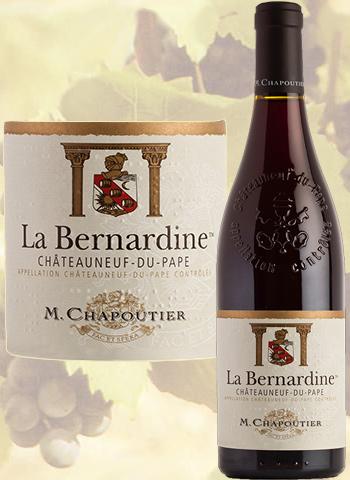 La Bernardine Rouge 2018 Châteauneuf-du-Pape Chapoutier
