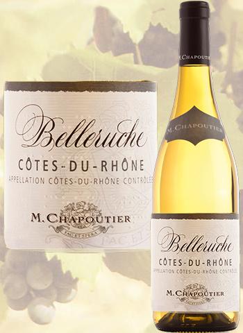 Belleruche Blanc 2019 Côtes-du-Rhône Chapoutier