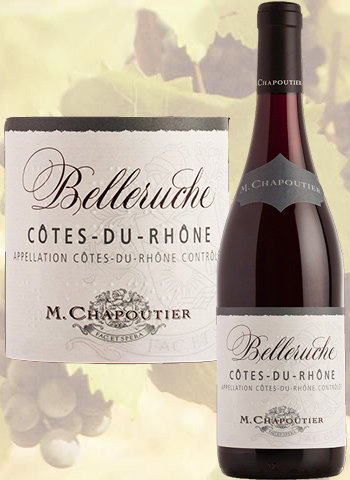 Belleruche Rouge 2019 Côtes-du-Rhône Chapoutier