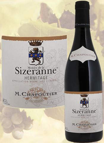 Monier De La Sizeranne Rouge 2016 Hermitage Bio Chapoutier