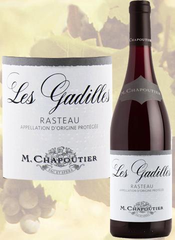 Rasteau Rouge Les Gadilles 2020 Côtes-du-Rhône Villages Chapoutier
