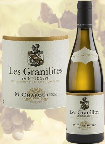 Magnum Les Granilites Blanc 2018 Saint-Joseph Bio Chapoutier