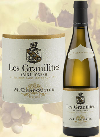 Les Granilites Blanc 2019 Saint-Joseph Bio Chapoutier