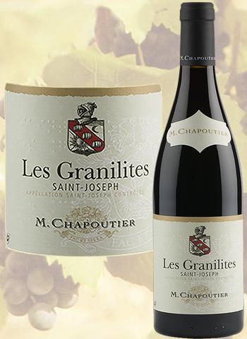 Les Granilites Rouge 2018 Saint-Joseph Bio Chapoutier