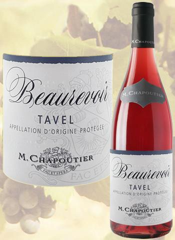 Beaurevoir 2019 Tavel Rosé Chapoutier