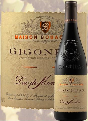 Gigondas Duc de Montfort 2018 Maison Bouachon